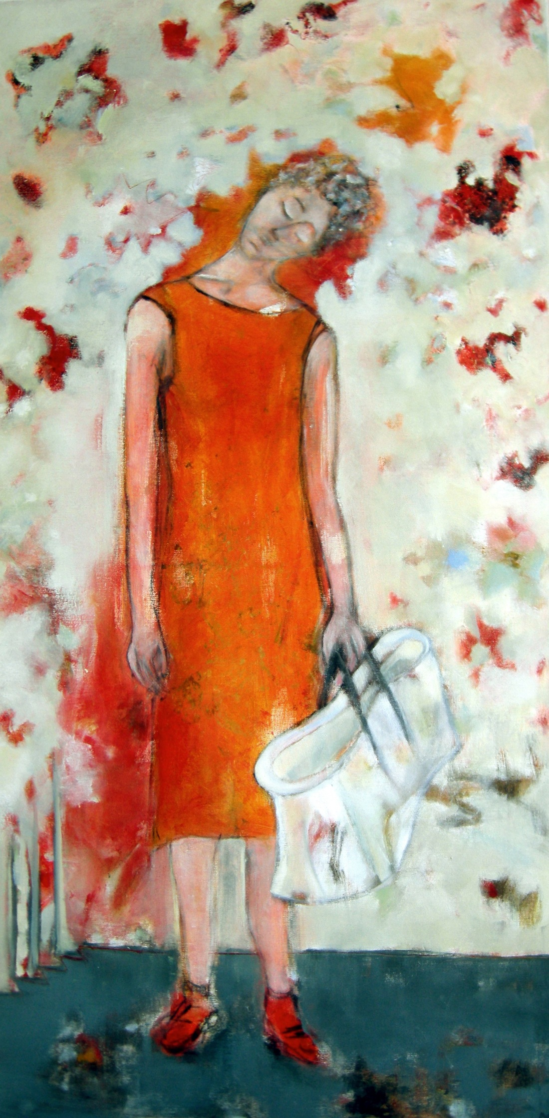 Doornroosje, 2008, olie op doek, 60x120 kopie