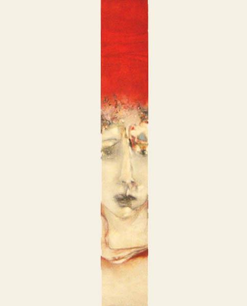 kijk , 2010, olie op doek, 80x100